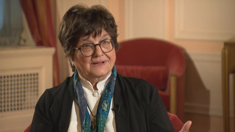 Sister Helen Prejean speaks with WTTW News.