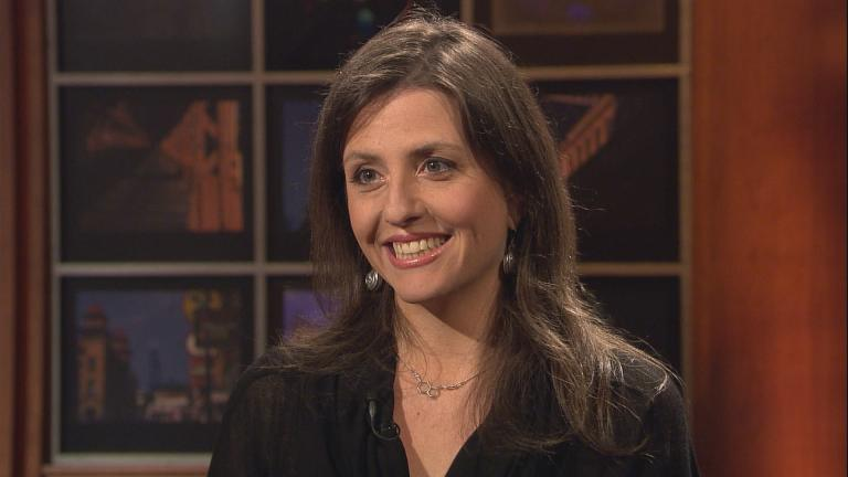 Author Rebecca Skloot appears on Chicago Tonight on May 11, 2011.