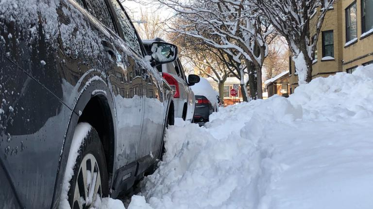 Chicagoans are prepping for another winter storm. (Patty Wetli / WTTW News)
