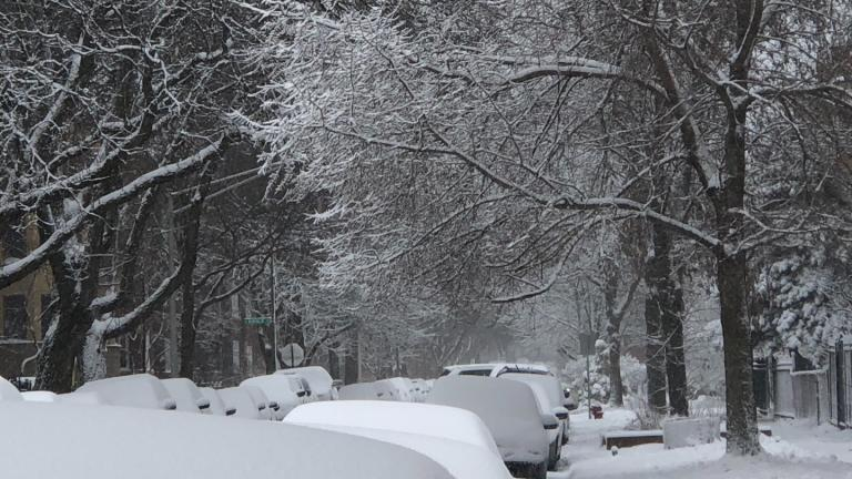 Get ready for another round of snow, Chicago. (Patty Wetli / WTTW News)