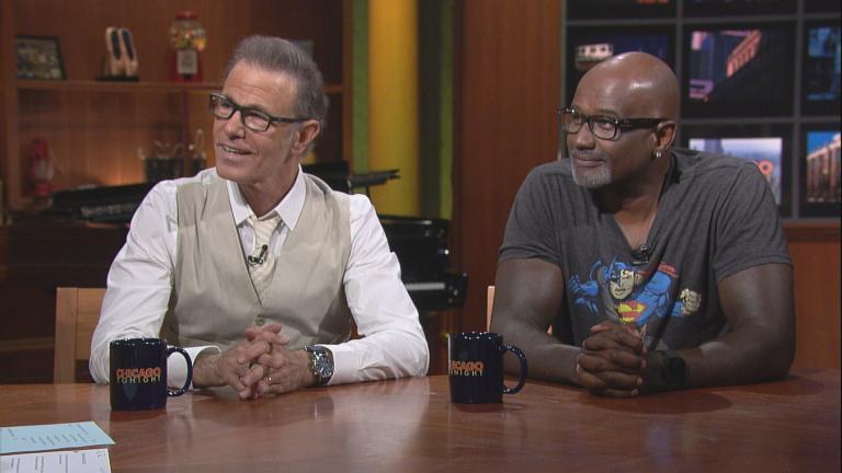 Alan Paul, left, and Claude McKnight (Chicago Tonight)