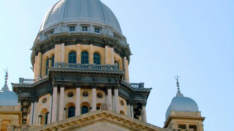 The Illinois State Capitol in Springfield. (WTTW News)