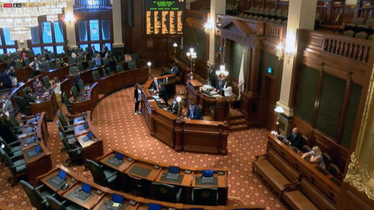 State lawmakers held the second special session of the summer. (WTTW News)