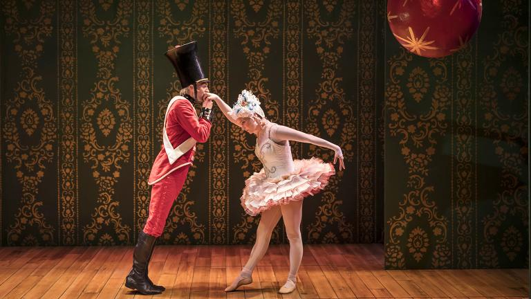 "Alex Stein and Kasey Foster in ""The Steadfast Tin Soldier."" (Photo by Liz Lauren)"