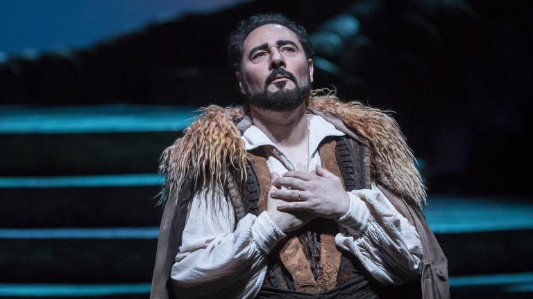 """Stefano La Colla in """"Turandot"""" (Courtesy of Lyric Opera Chicago)"""