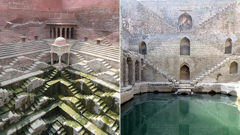 Indian stepwells (Courtesy Victoria Lautman)