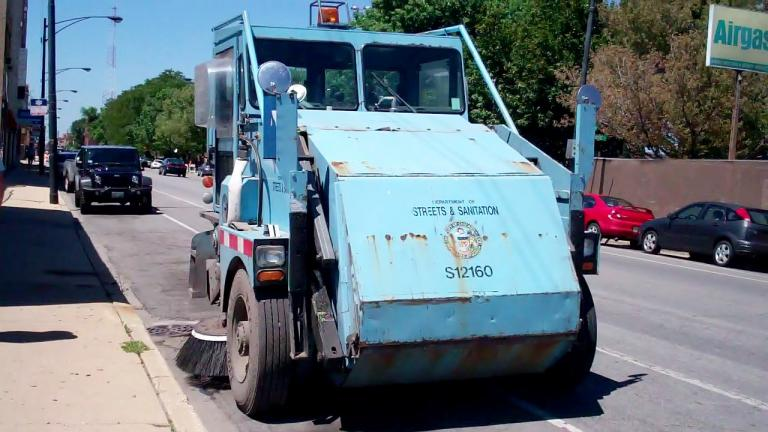 Chicago's street sweeping schedule has been adjusted in light of the coronavirus quarantine. (Arvell Dorsey Jr. / Flickr)