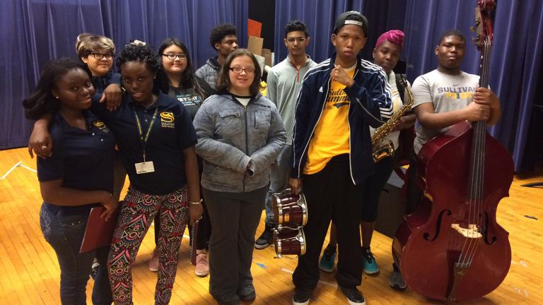 Roger C. Sullivan High School students from Chicago and around the world will share their stories June 13. The school has the highest number of refugee students of any high school in the city. (Courtesy of Lifeline Theatre)