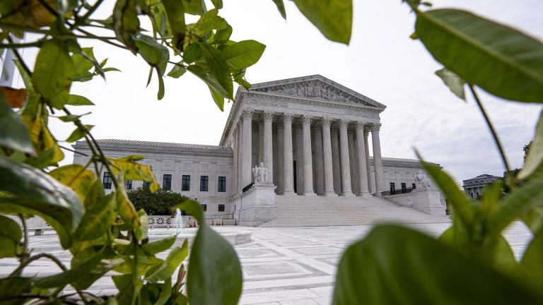 The Supreme Court is seen in Washington, early Monday, June 15, 2020. (AP Photo / J. Scott Applewhite)