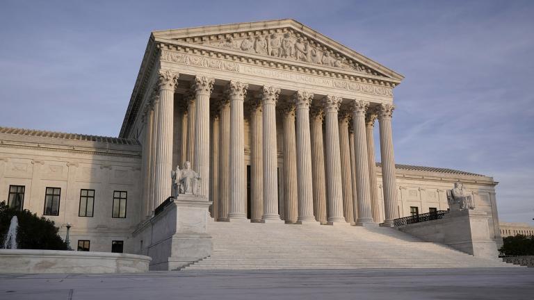 In this Nov. 5, 2020 file photo, the Supreme Court is seen in Washington. (AP Photo / J. Scott Applewhite)