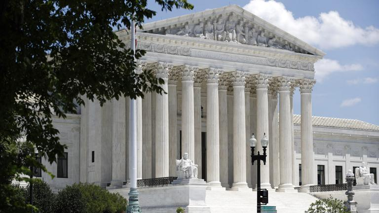 In this June 29, 2020 file photo, the Supreme Court is seen on Capitol Hill in Washington. (AP Photo / Patrick Semansky)
