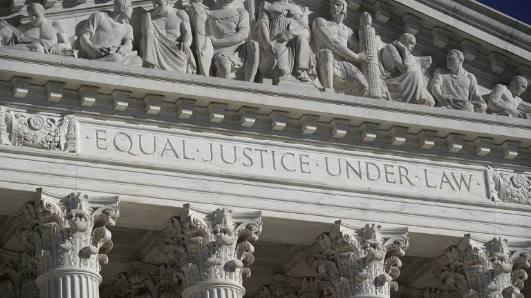 In this Nov. 4, 2020 file photo, the Supreme Court is seen in Washington. (AP Photo / J. Scott Applewhite, File)