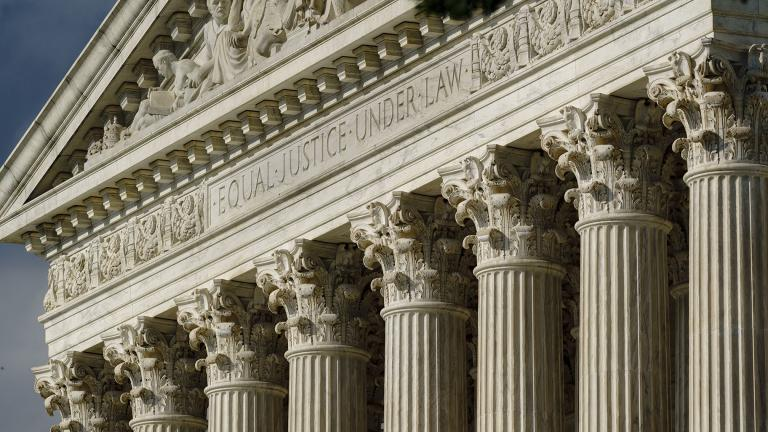 This June 8, 2021, file photo shows the Supreme Court in Washington. (AP Photo / J. Scott Applewhite, File)