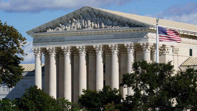 The Supreme Court is seen in Washington, Monday, Oct. 18, 2021. (AP Photo / J. Scott Applewhite)