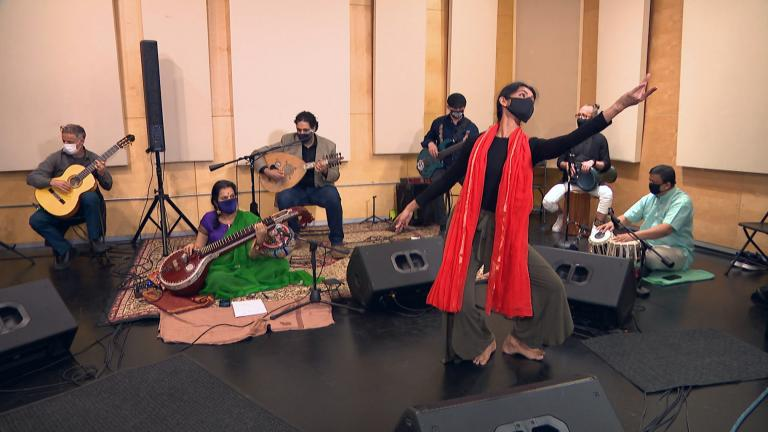 Composed of musicians of many races and ethnicities based in Chicago, the Surabhi Ensemble has a mission to make cross-cultural connections. (WTTW News)