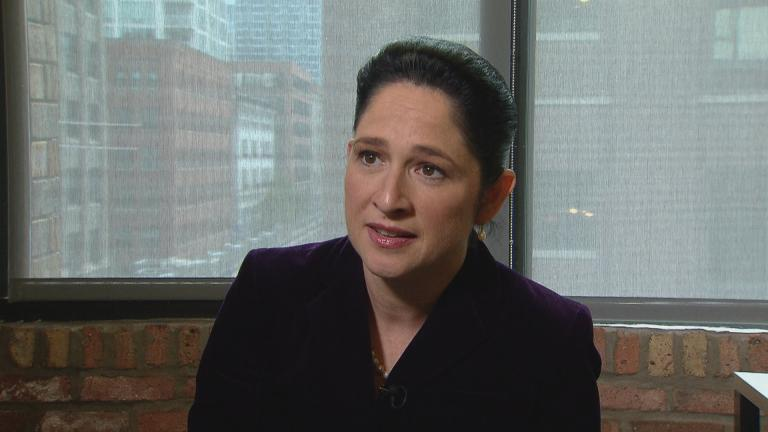 "Illinois Comptroller Susana Mendoza speaks with ""Chicago Tonight"" on Nov. 14, 2018."