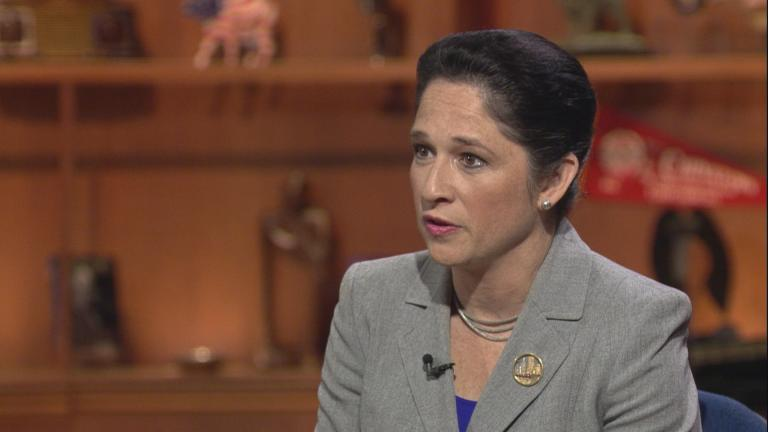 "Illinois Comptroller Susana Mendoza appears on ""Chicago Tonight."""