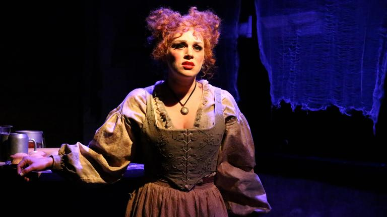 Jacquelyne Jones as Mrs. Lovett (Credit: Cody Jolly Photography)
