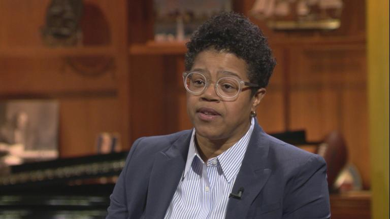 "Sydney Roberts appears on ""Chicago Tonight"" on Feb. 6, 2019."