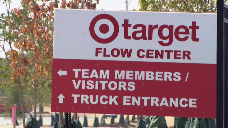 A new Target warehouse facility in Little Village is expected to provide up to 2,000 jobs. (WTTW News)