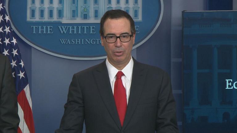 U.S. Treasury Secretary Steven Mnuchin