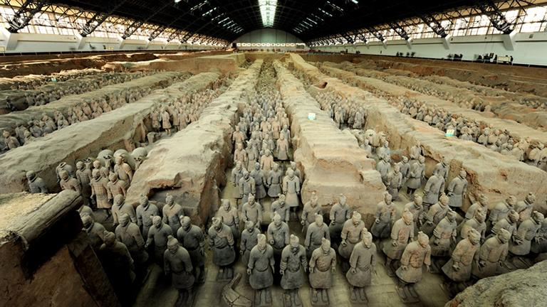Terracotta Warriors (© Shaanxi Cultural Heritage promotion Center and emperor Qin Shihuang's Masoleum Site Museum)