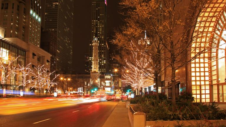 Chicago's Mag Mile will sparkle as magically as ever in 2020. (The Magnificent Mile / Facebook)