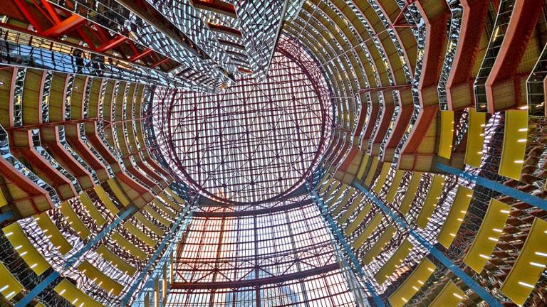 The Thompson Center was named to Preservation Chicago's most endangered list in 2020. (Gabriel X. Michael)