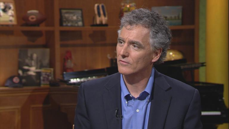 """Cook County Sheriff Tom Dart appears on """"Chicago Tonight"""" on July 13, 2017."""