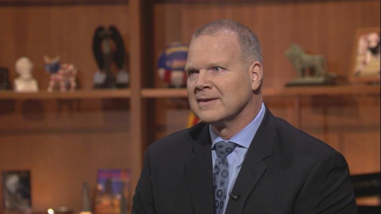"State Superintendent of Education Tony Smith appears on ""Chicago Tonight"" on Jan. 11."