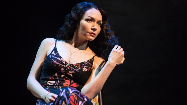 """Katrina Lenk in """"The Band's Visit."""" (Photo by Matthew Murphy)"""