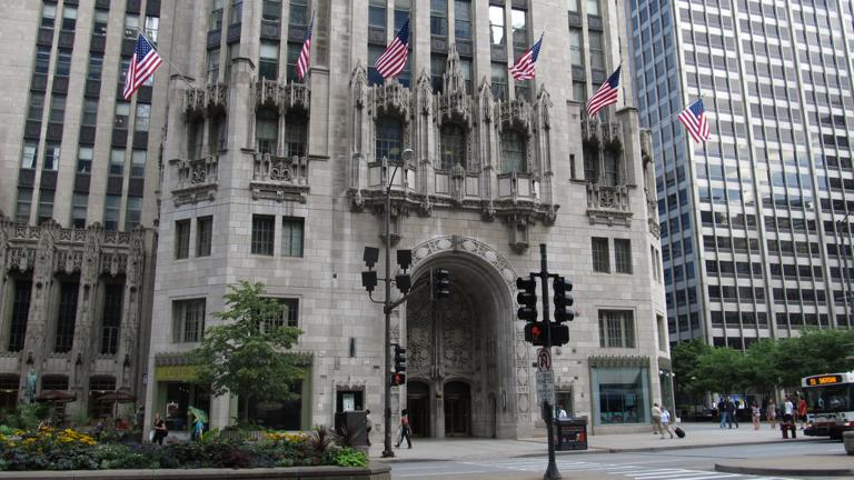 Tribune Tower (Ken Lund / Flickr)