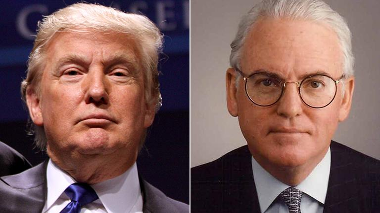 Donald Trump (Gage Skidmore / Flickr) and Ald. Ed Burke