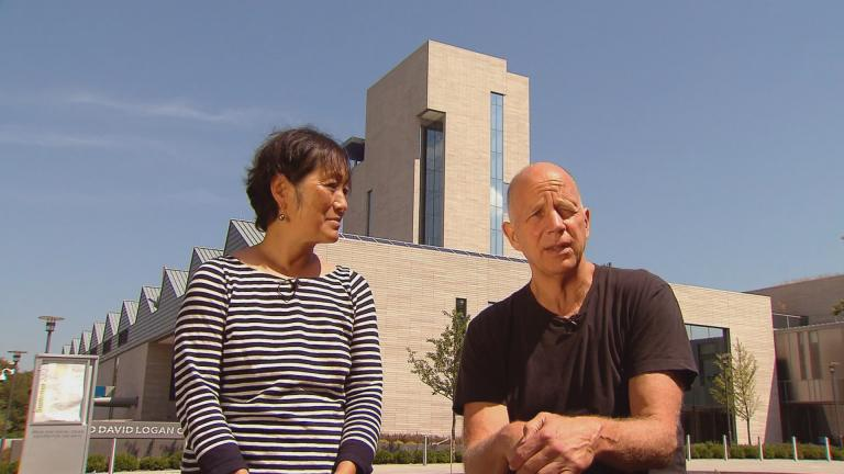 Architects Billie Tsien, left, and Tod Williams.