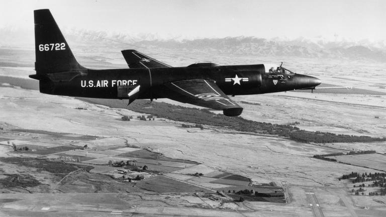 Lockheed U-2A (U.S. Air Force photo)