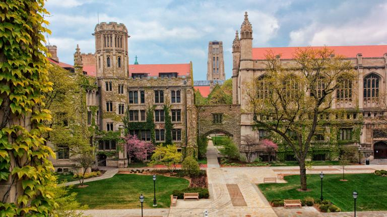 The University of Chicago (Don Burkett / Flickr)