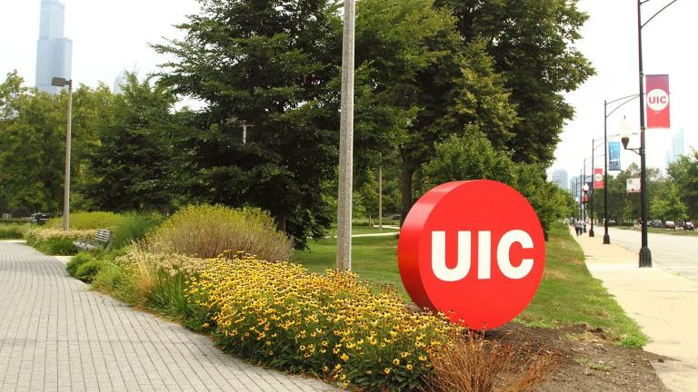 University of Illinois at Chicago received $40 million from philanthropist MacKenzie Scott. (University of Illinois Chicago / Facebook photo)