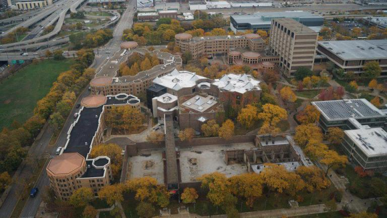 The University of Illinois at Chicago campus in 2012 (University of Illinois at Chicago / Facebook)