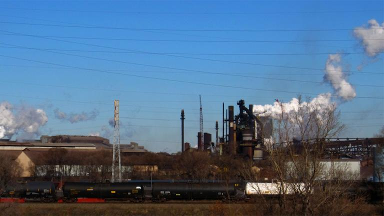 U.S. Steel's Gary Works plant (Ken Lund / Flickr)