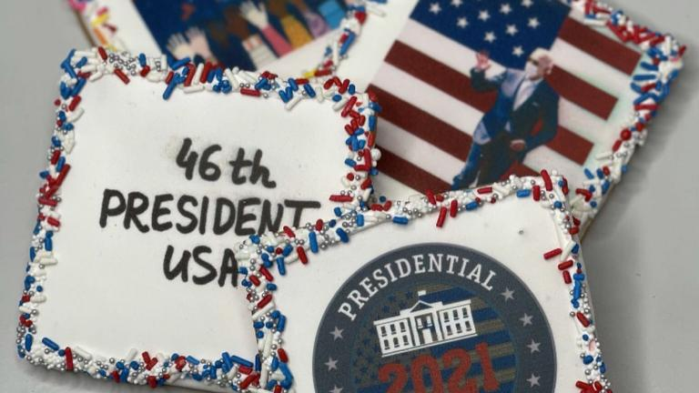 Vanille Patisserie has a full menu of Inauguration Day baked goods. (Courtesy of Vanille Patisserie)