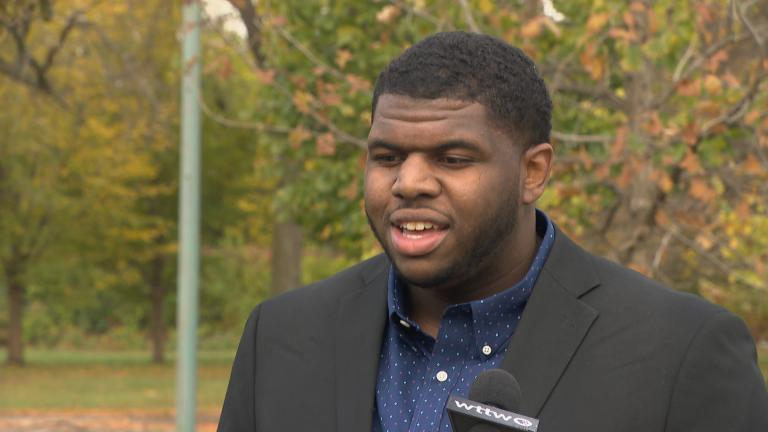 Vashon Jordan Jr. (WTTW News)