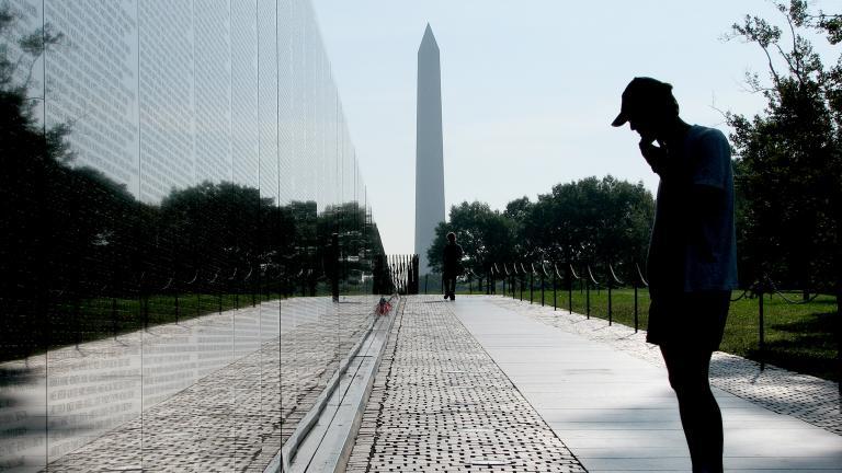 Vietnam Veterans Memorial in Washington, D.C. (Hu Totya / Wikimedia Commons)
