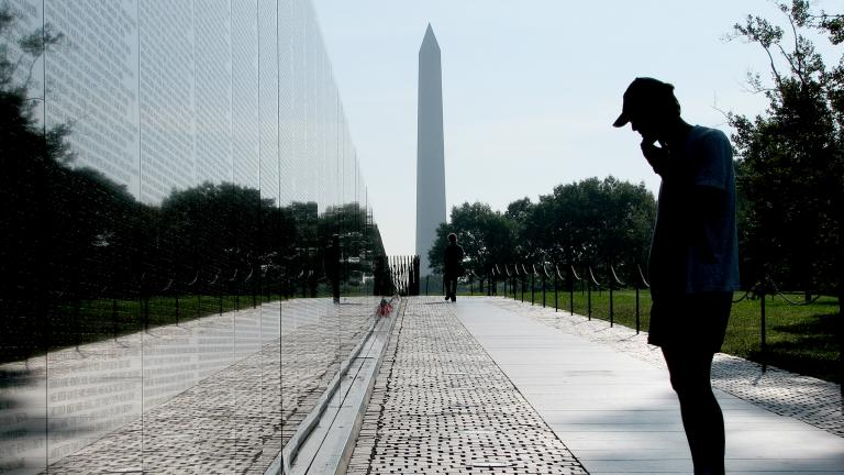 Vietnam Veterans Memorial in Washington, D.C. (Hu Totya / Wikimedia Commons)