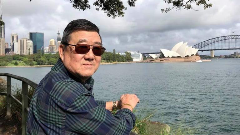 This March 2020 photo provided by the family shows Ming Wang in Sydney, Australia. (Lu Wang via AP)
