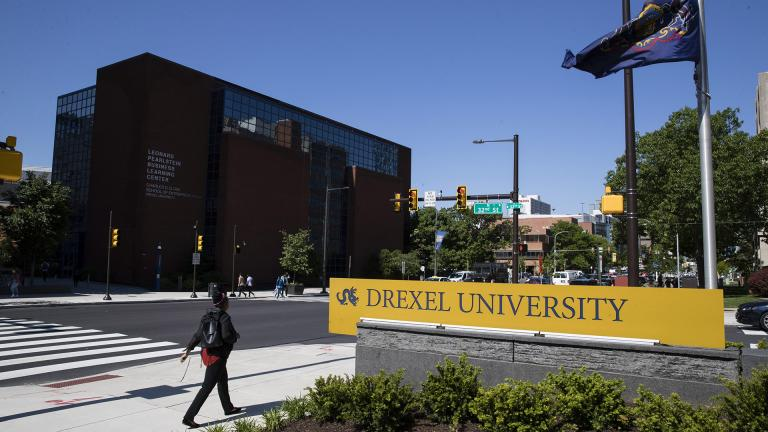 In this May 15, 2019, file photo Drexel University in Philadelphia. Students at more than 25 universities are filing lawsuits demanding tuition refunds from their schools after finding that the online classes they are being offered do not match up to the classroom experience. (AP Photo / Matt Rourke, File)