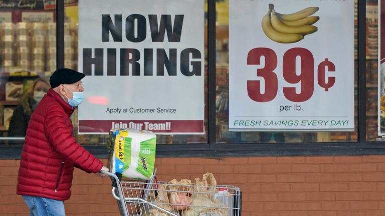 A man walks out of a Marc's Store, Friday, Jan. 8, 2021, in Mayfield Heights, Ohio. (AP Photo / Tony Dejak, file)