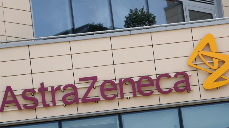 This July 18, 2020, file photo, shows the AstraZeneca offices in Cambridge, England. (AP Photo / Alastair Grant, File)