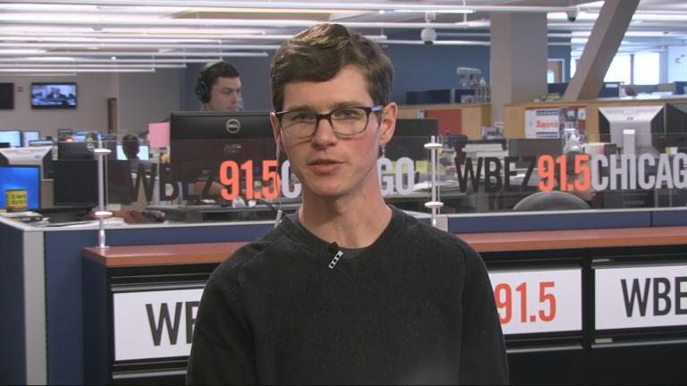 WBEZ data reporter Chris Hagan