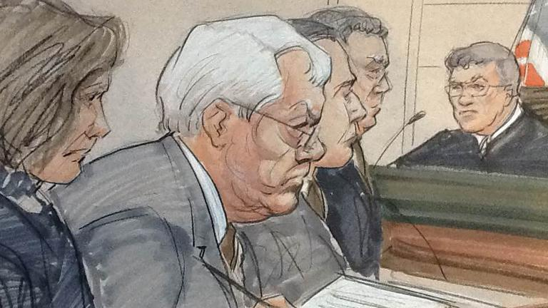 (Courtroom sketch by Thomas Gianni)