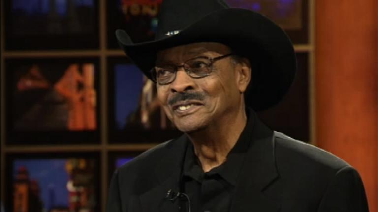 """Herb Kent appears on """"Chicago Tonight"""" in February 2009."""
